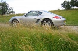 Porsche Cayman side