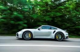Porsche 911 Turbo S, 2021, side