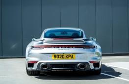 Porsche 911 Turbo S, 2021, tail