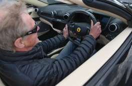 Ferrari Portofino, interior with Mike Torpey