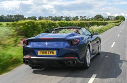 Ferrari Portofino, rear, action