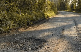 Pothole misery for motorists