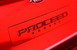 Kia Proceed concept, 2017, badge