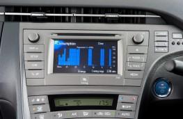 Toyota Prius, 2014, display screen