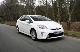 Toyota Prius, 2014, front, action