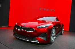 Kia Proceed concept, 2017, front