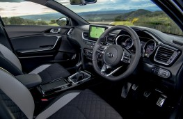 Kia Proceed concept, 2017, interior