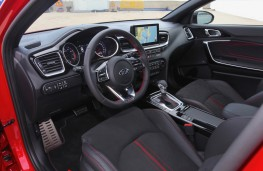 Kia ProCeed, 2018, interior