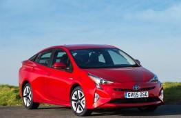 Toyota Prius, front