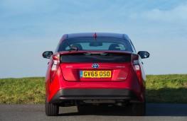 Toyota Prius, rear