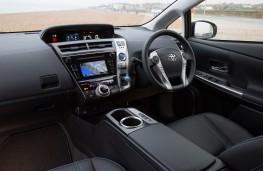 Toyota Prius, 2016, interior