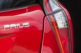 Toyota Prius, 2016, tail light cluster