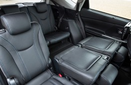 Toyota Prius, 2016, rear seats