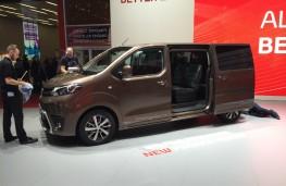 Toyota Proace Verso, Geneva Motor Show 2016
