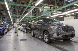 Production line at Ford Valencia