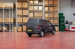 Toyota Proace City SWB, 2020, rear