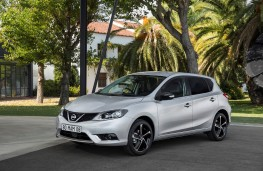 Nissan Pulsar N-Connecta Style Edition, 2017, front