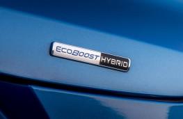 Ford Puma ST-Line X, 2020, EcoBost hybrid badge