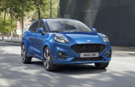 Ford Puma, 2019, front, action