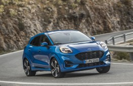 Ford Puma ST-Line X, 2020, front, action