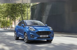 Ford Puma, 2019, front