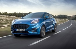 Ford Puma ST-Line X, 2020, front
