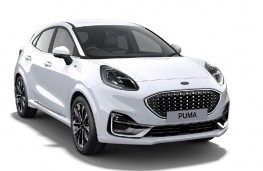 Ford Puma ST-Line X Vignale, 2020, front