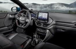 Ford Puma ST-Line X, 2020, interior