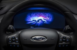 Ford Puma, 2019, instrument panel, start up screen