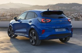 Ford Puma, 2019, rear