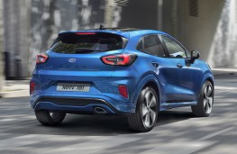Ford Puma, 2019, rear, action