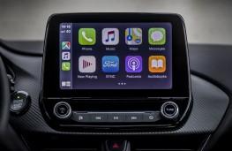 Ford Puma ST-Line X, 2020, display screen