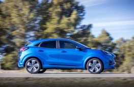 Ford Puma ST-Line X, 2020, side