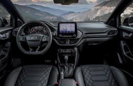 Ford Puma Vignale, 2020, interior