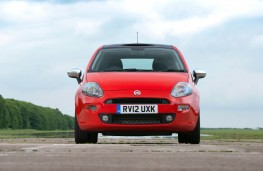 Fiat Punto, head-on
