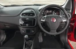 Fiat Punto, interior