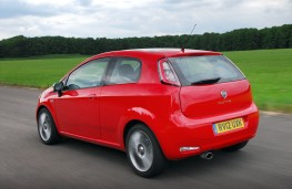 Fiat Punto, rear