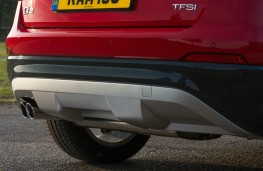 Audi Q2 Sport, 2016, exhaust