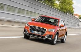 Audi Q2, front, action