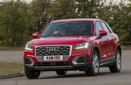 Audi Q2 Sport, 2016, front, moving