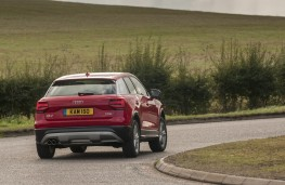 Audi Q2 Sport, 2016, rear, moving