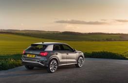 Audi Q2, 2021, rear
