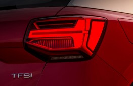 Audi Q2 Sport, 2016, rear lights