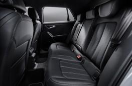 Audi Q2, 2021, rear seats