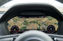 Audi Q2 S line, 2016, virtual cockpit, map