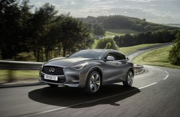 Infiniti Q30, front, action