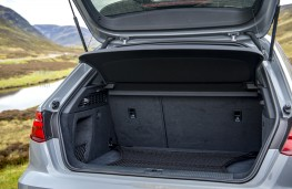 Audi RS Q3 Sportback, 2021, boot