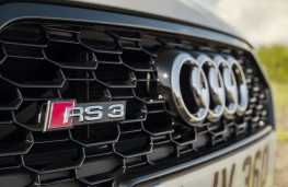 Audi RS Q3 Sportback, 2021, grille