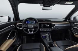 Audi Q3, 2018, interior