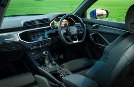 Audi Q3, 2019, interior